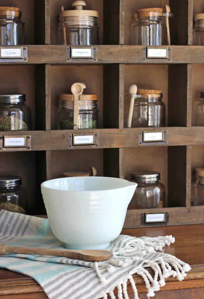 Farmhouse kitchen styling ideas