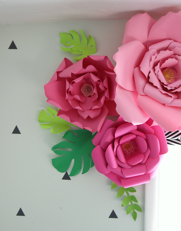 How to make paper flowers for Flower decoration made of paper