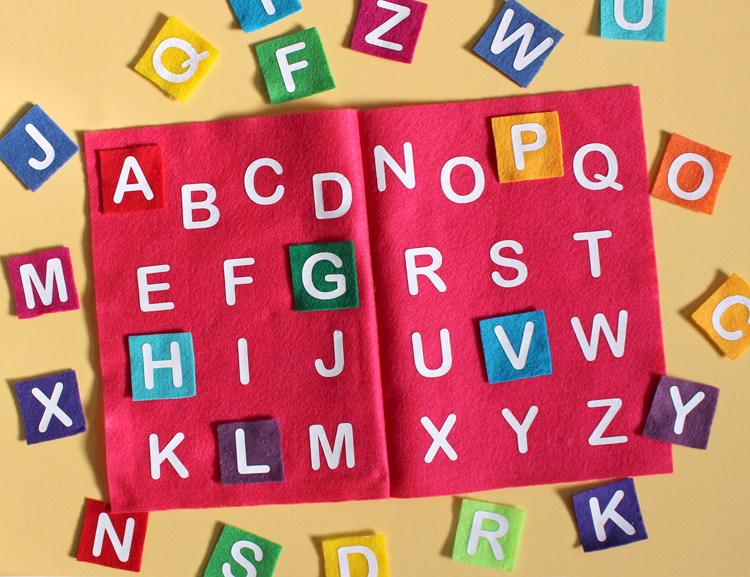 Alphabet Book Craft