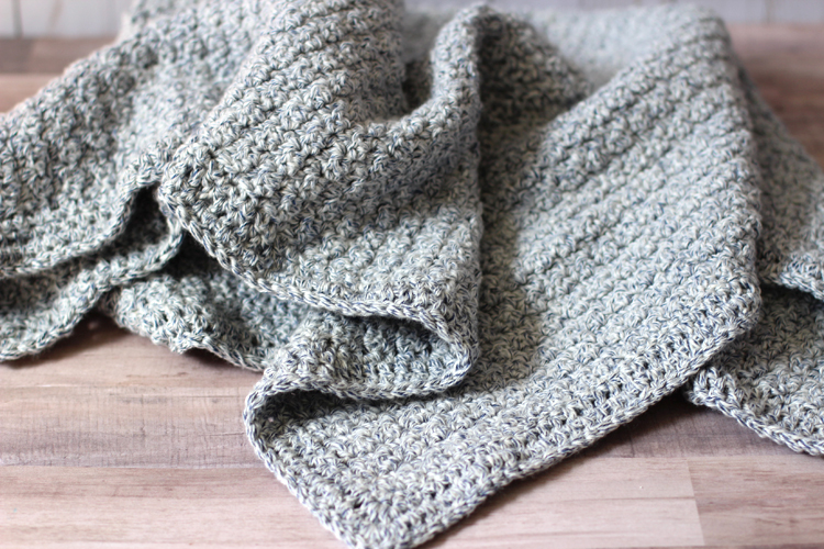 The Hudson Crochet Baby Blanket Pattern Thecraftpatchblogcom