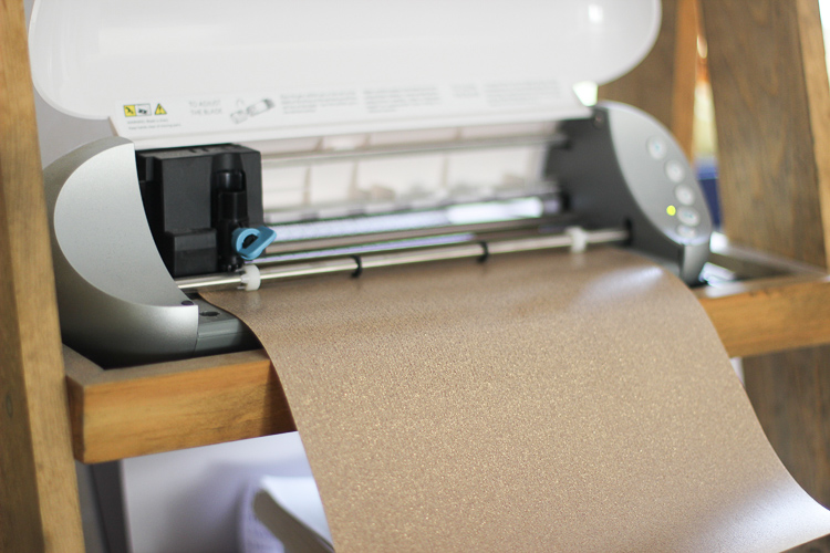 Tips for cutting glitter heat transfer vinyl