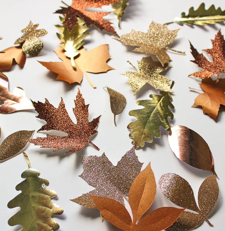 How to create these gorgeous paper leaves using a Silhouette Cameo
