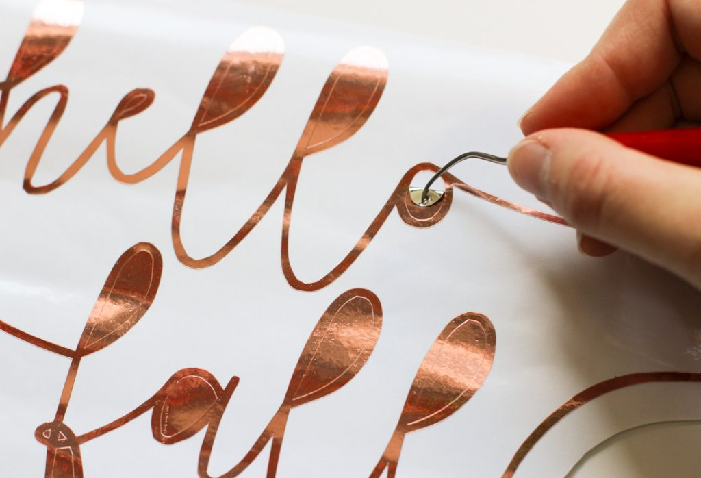 Silhouette Rose Gold Vinyl Project Ideas
