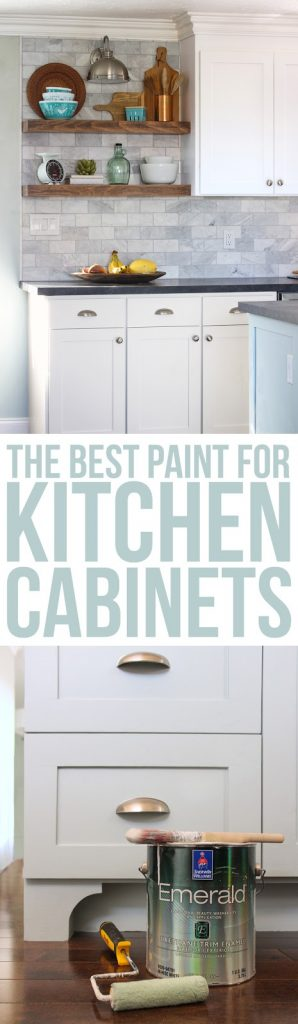 The Best Paint for Kitchen Cabinets - thecraftpatchblog com