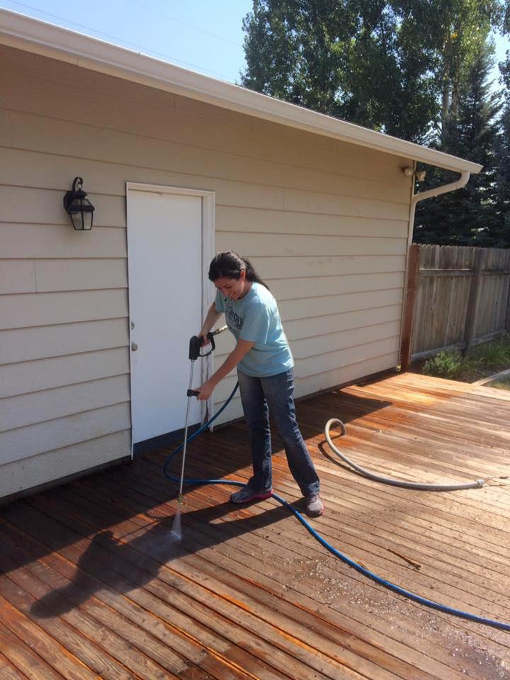 wood deck restoration