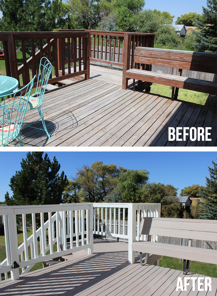 Deck Makeover With Rocksolid Resurfacer