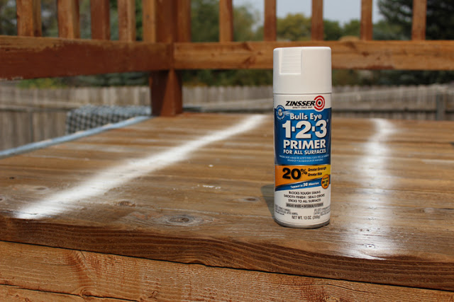 How to prep a deck for paint