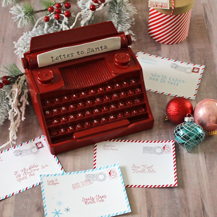 Air mail letters to Santa
