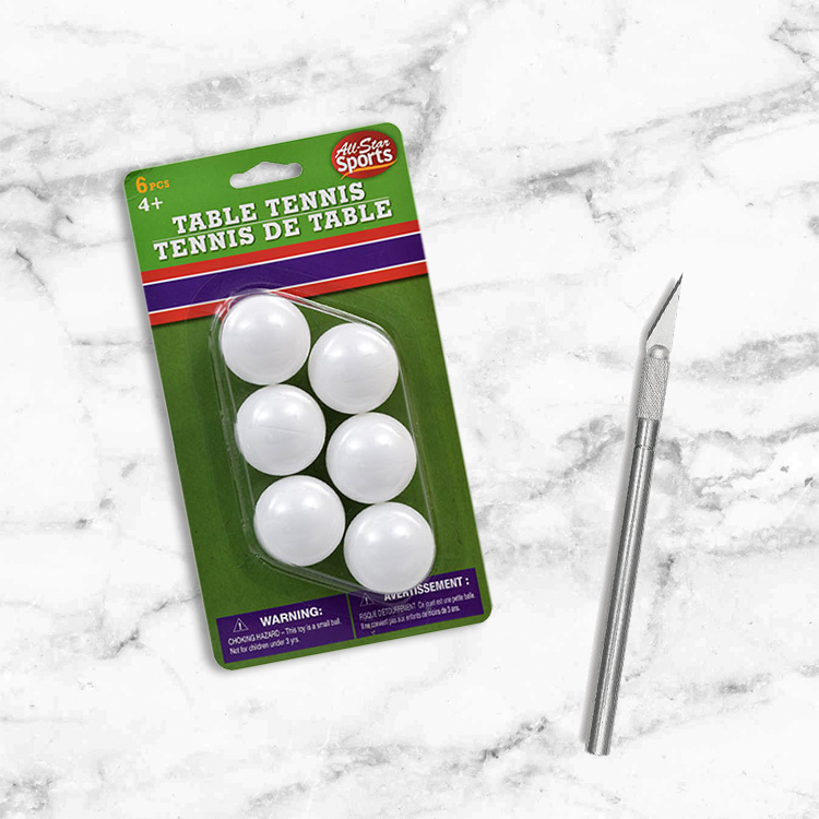 Add ping pong balls to your Christmas tree!