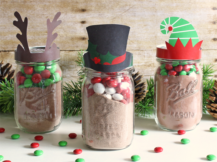 Holiday Free Printable Mason Jar Gift Toppers The Craft Patch