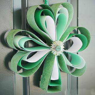 St. Patrick's Day Wreath