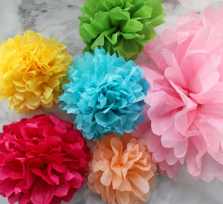Tissue paper flowers the ultimate guide thecraftpatchblog learn how to make tissue paper flowers with the help of this step by step photo and video tutorial this is your ultimate guide to making hanging mightylinksfo