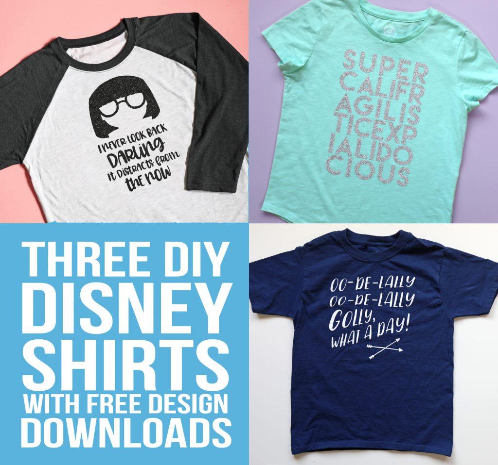 DIY Disneyland Shirts - thecraftpatchblog.com
