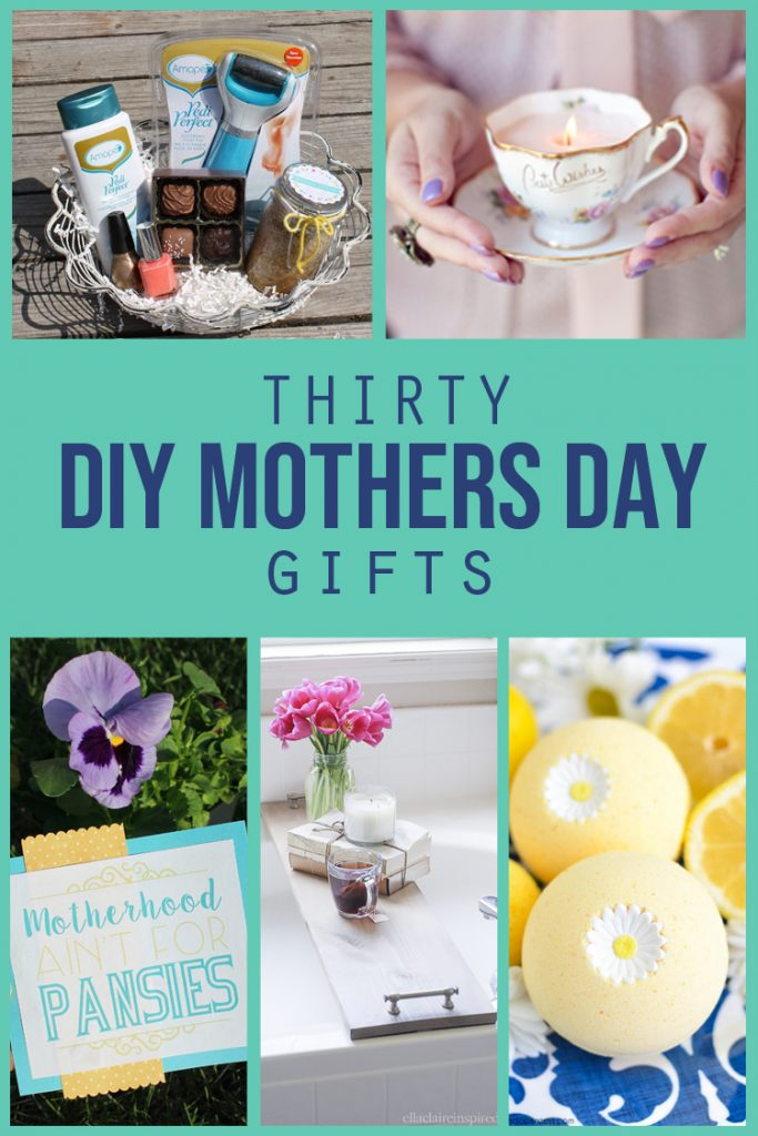 Thirty DIY Mothers Day Gifts  thecraftpatchblog.com