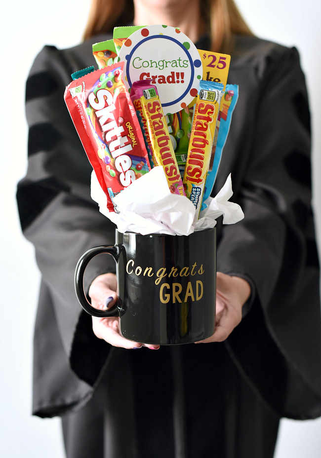 candy bouquet graduation gift