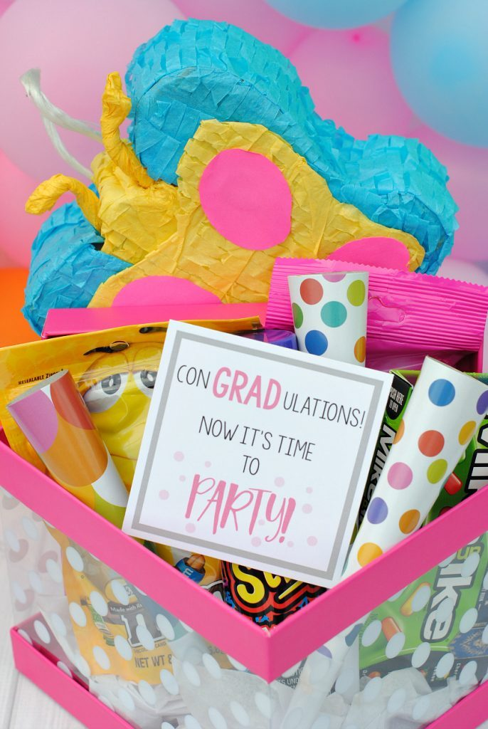 party in a box gift idea