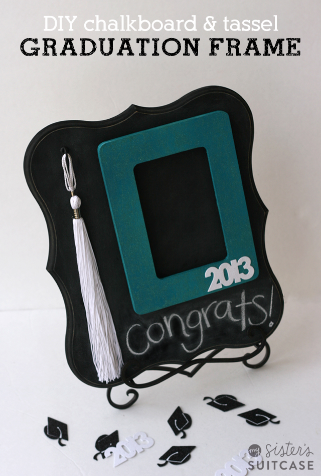 graduation tassel photo frame