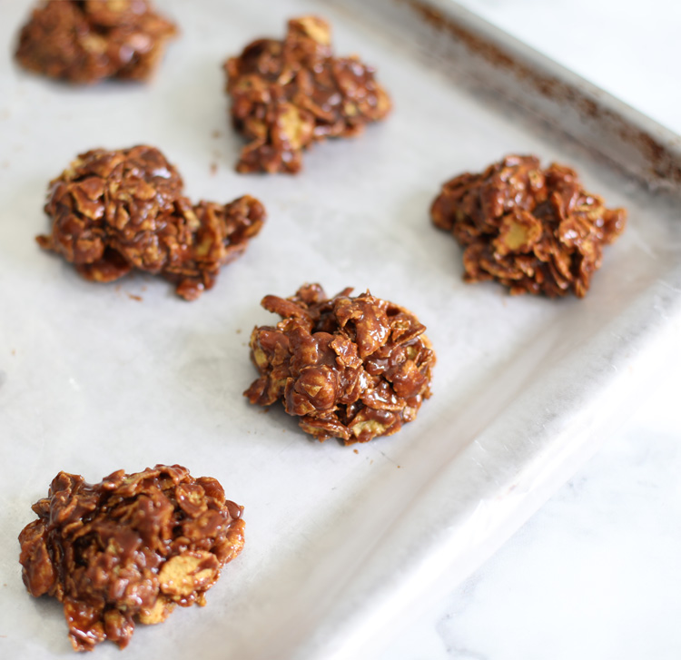 no bake cookies with nutella