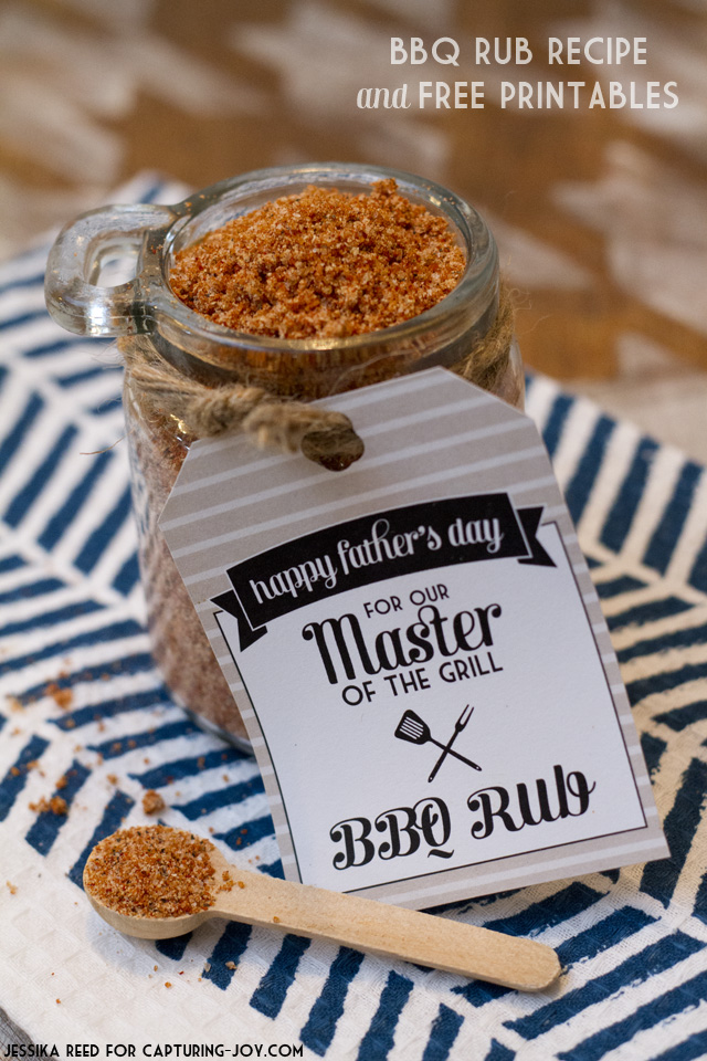 BBQ rub fathers day gift