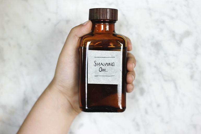 fathers day shaving oil gift idea