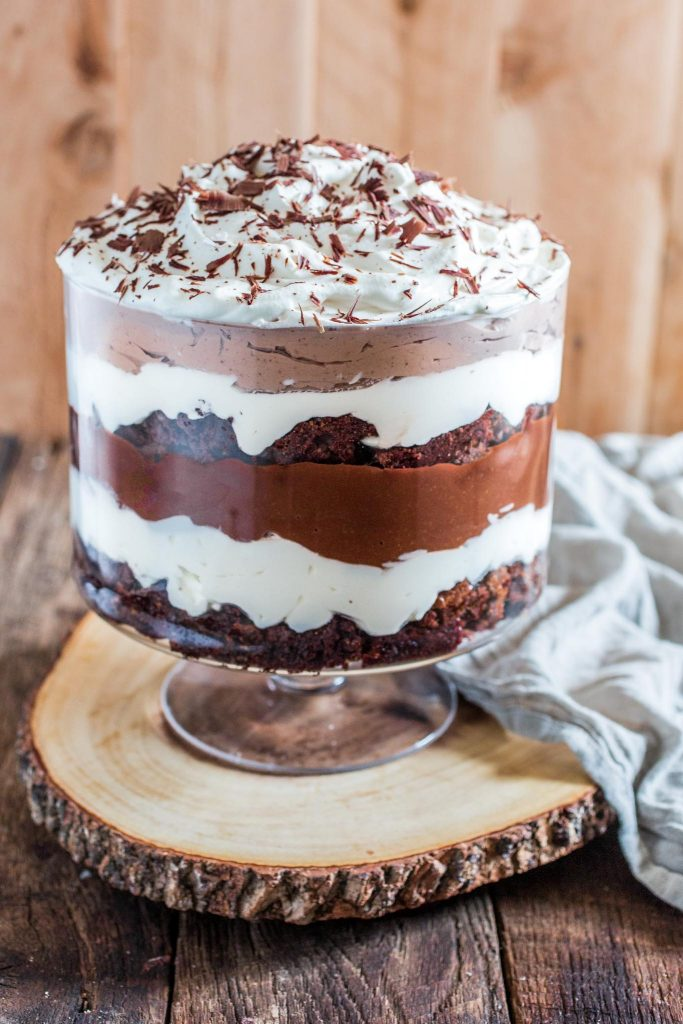 classic brownie trifle