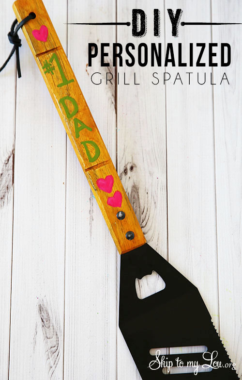 personalized spatula for fathers day