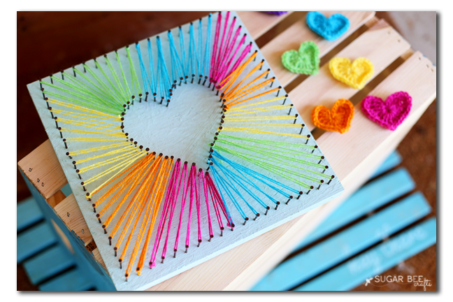 string art craft for kids