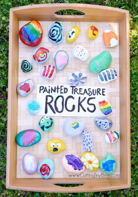 painted rocks summer activity