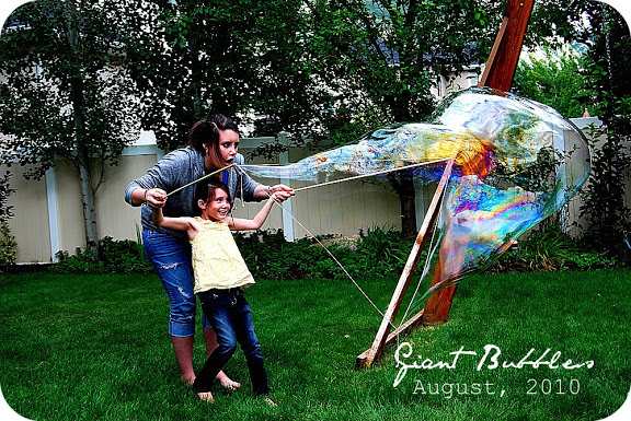 giant bubbles summer boredom buster