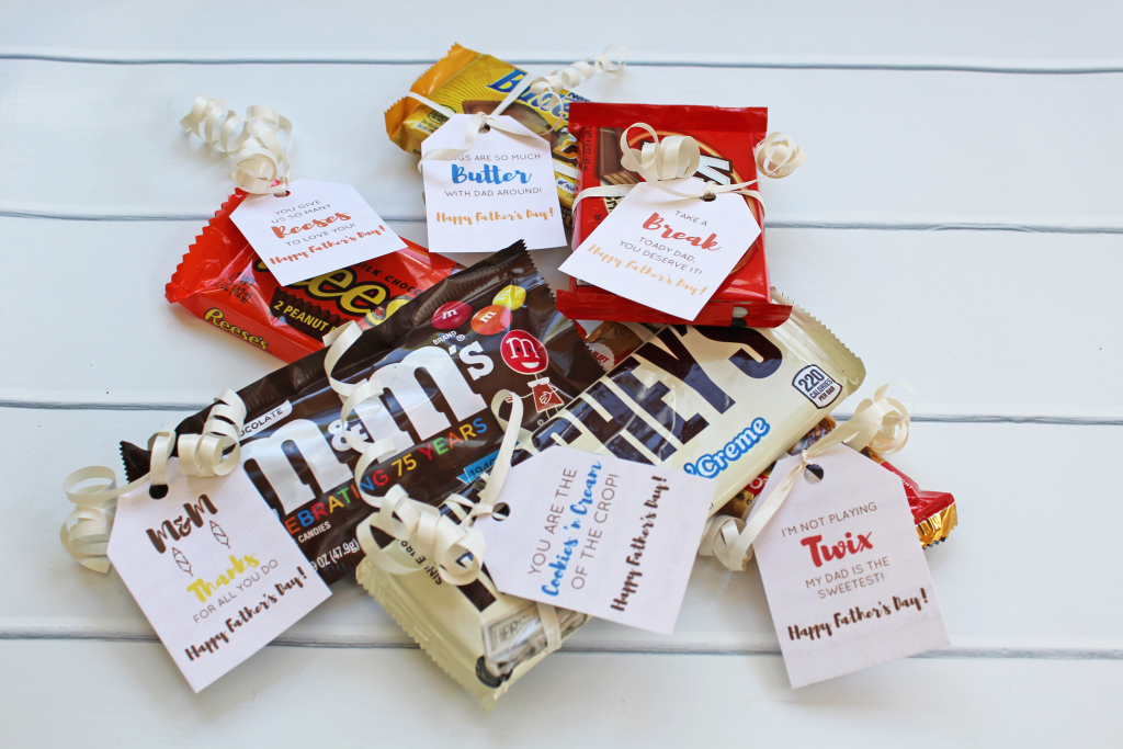 fathers day candy gift idea