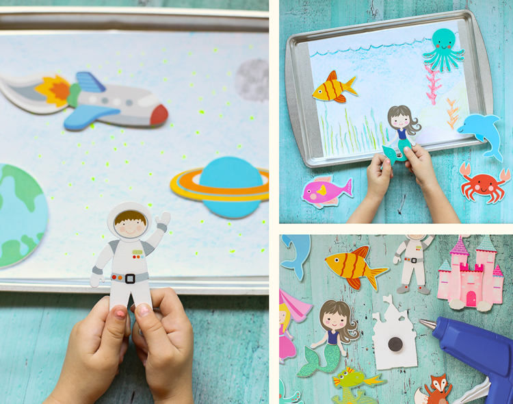 cookie sheet activities for kids