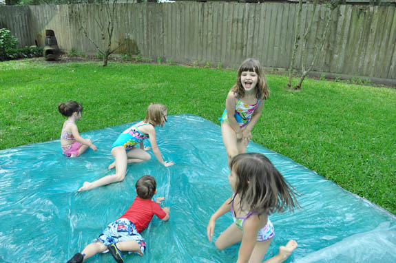 water blob summer activity for kids