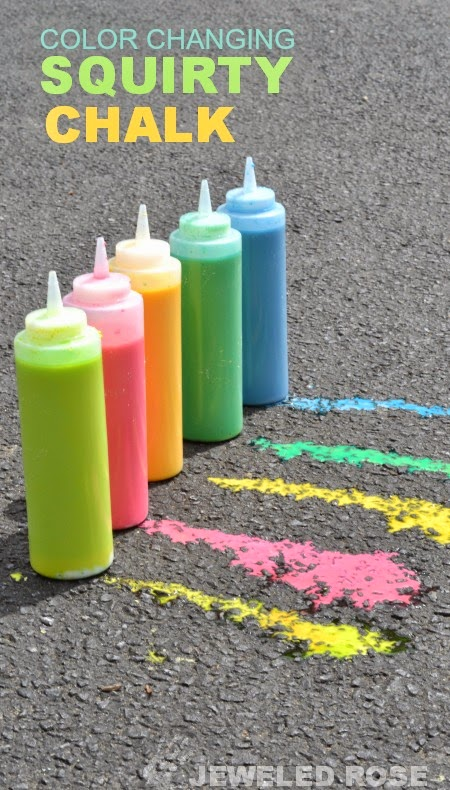 squirt chalk for summer