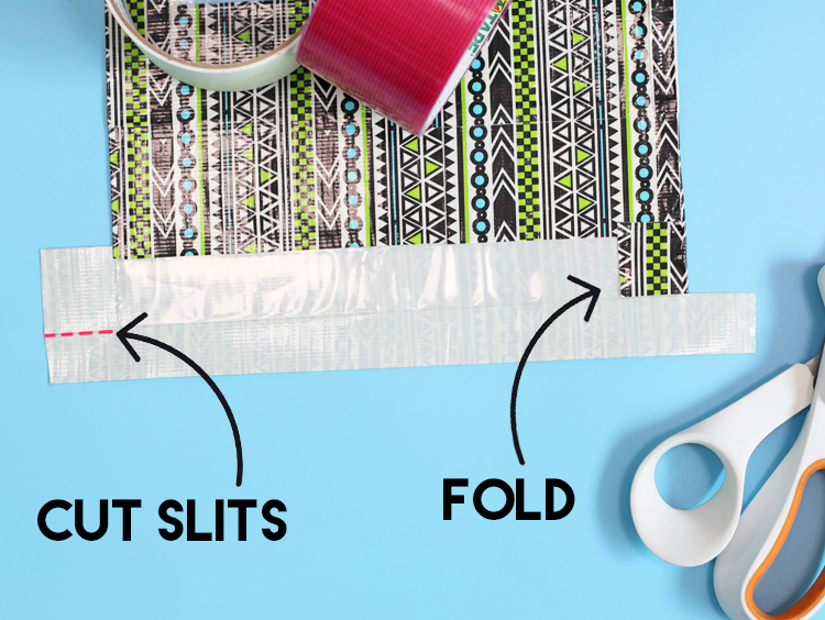 duck tape bag tutorial