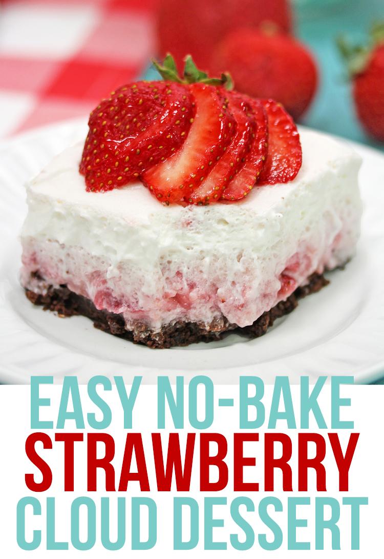 strawberry no bake dessert recipe