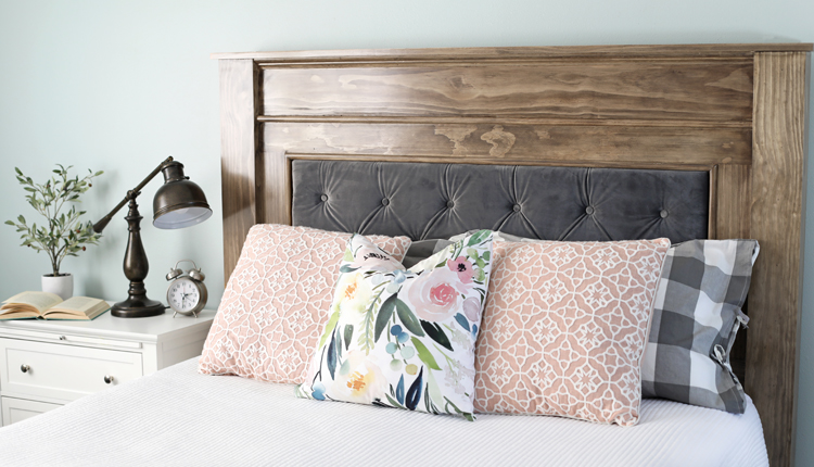 Diy Wood Upholstered Headboard The Craft Patch