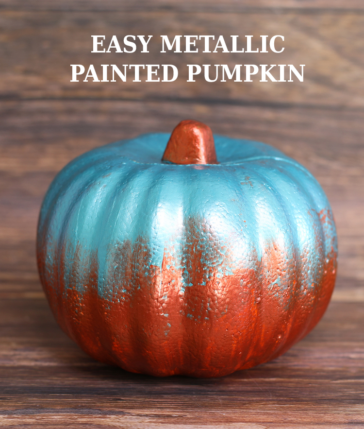 easy painted pumpkin