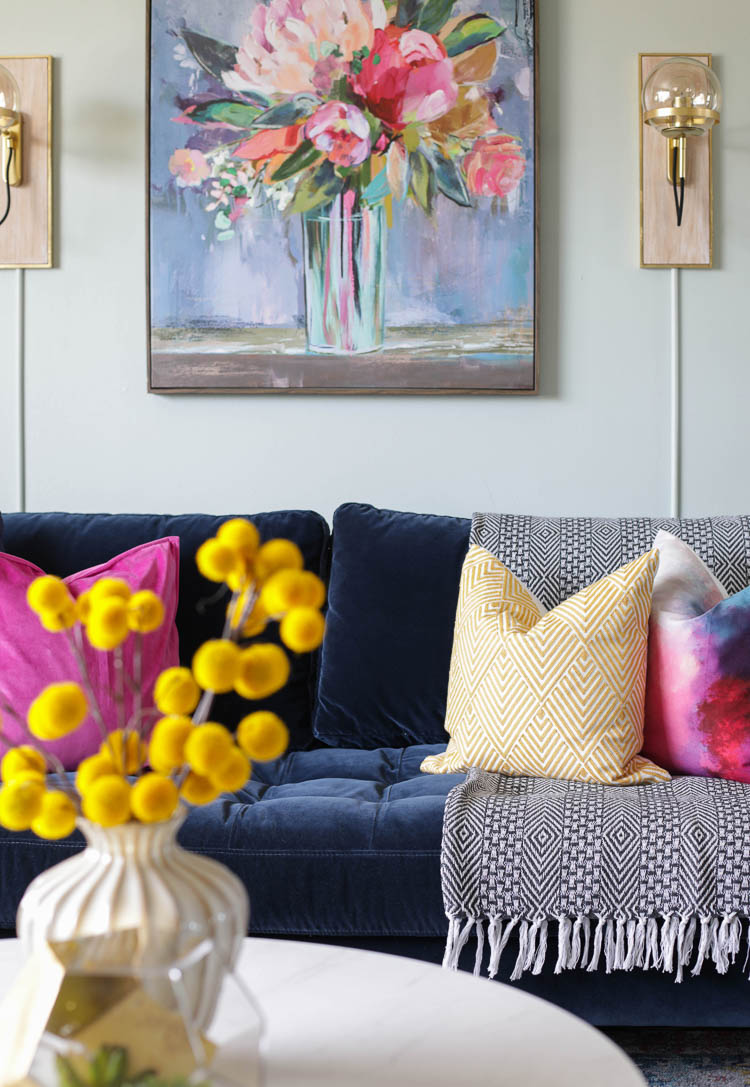 From Farmhouse To Modern Glam My Living Room Makeover