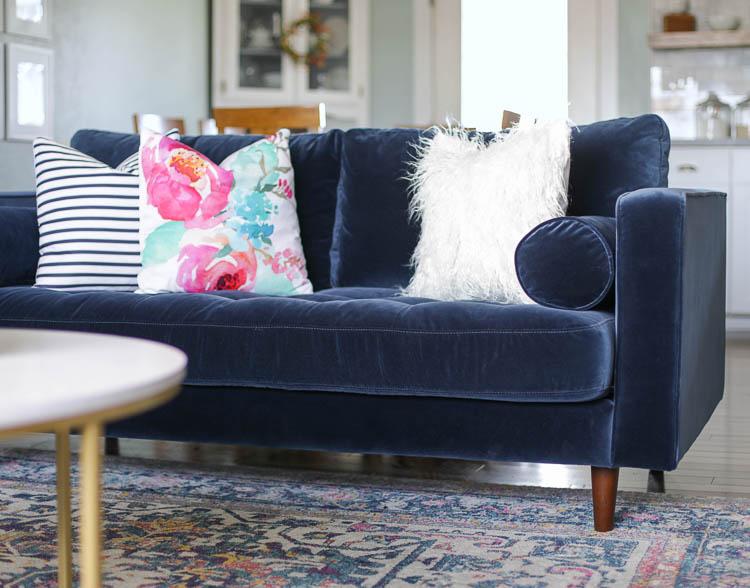 Groovy From Farmhouse To Modern Glam My Living Room Makeover With Creativecarmelina Interior Chair Design Creativecarmelinacom