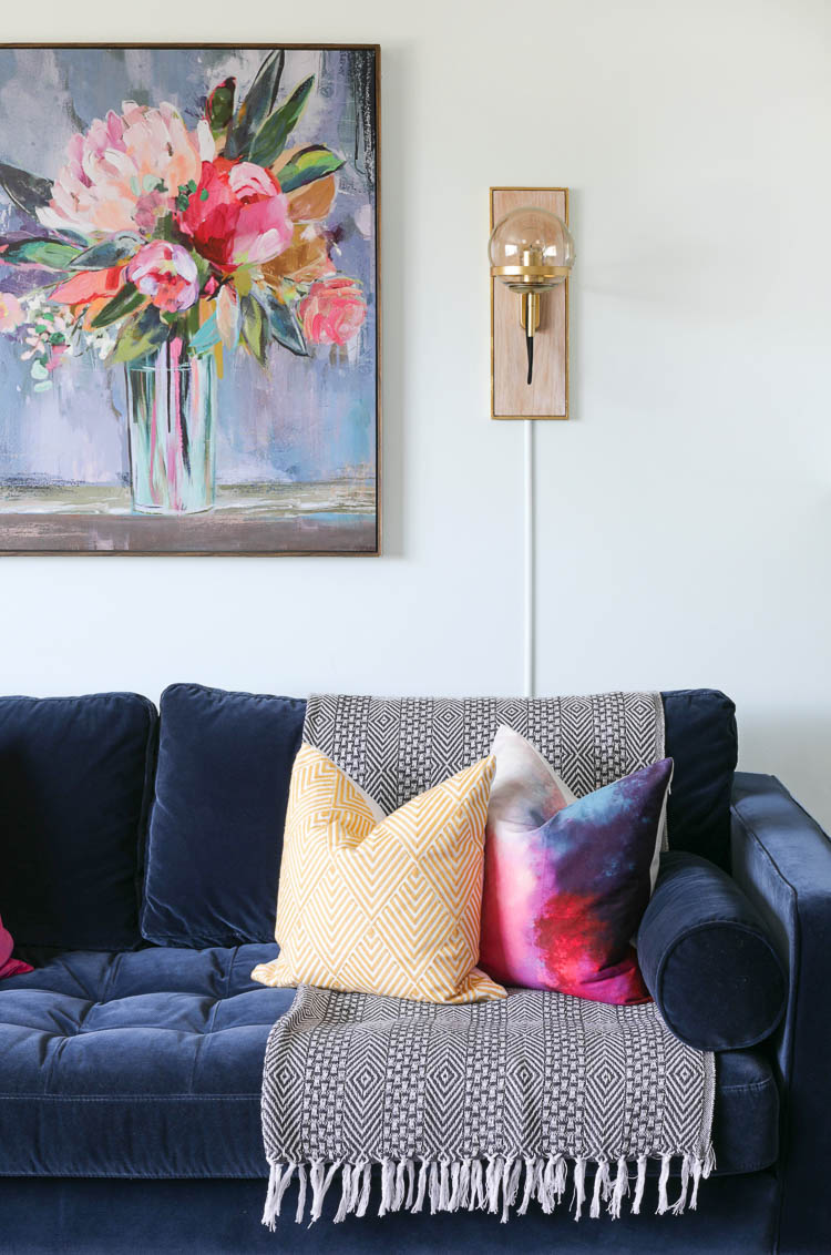 From Farmhouse to Modern Glam: My Living Room Makeover with