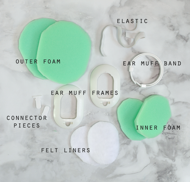 ear muff diy kit