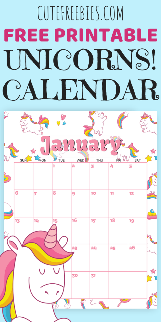 The Best 2019 Free Printable Calendars The Craft Patch