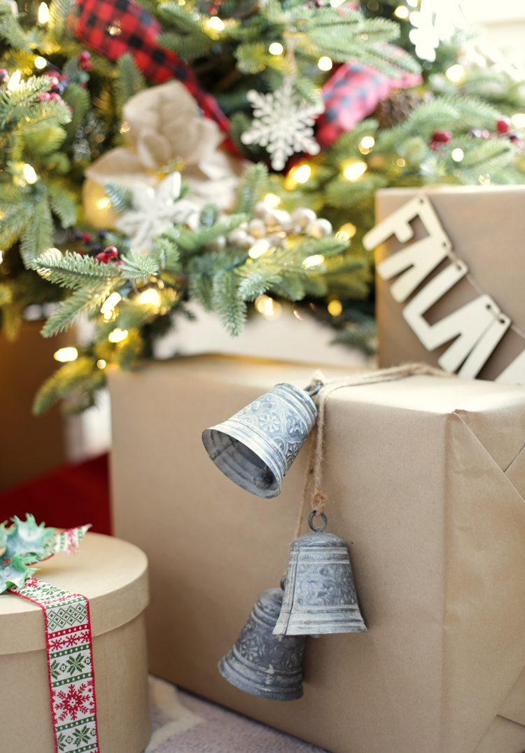 kraft paper christmas wrapping ideas