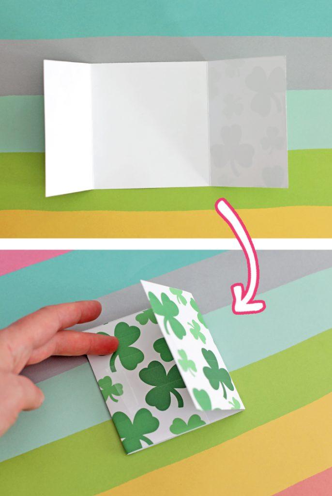 paper napkin wrap printable