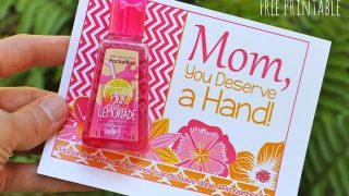 Hand Sanitizer Gift for Mom