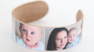 Popsicle Stick Photo Bracelet