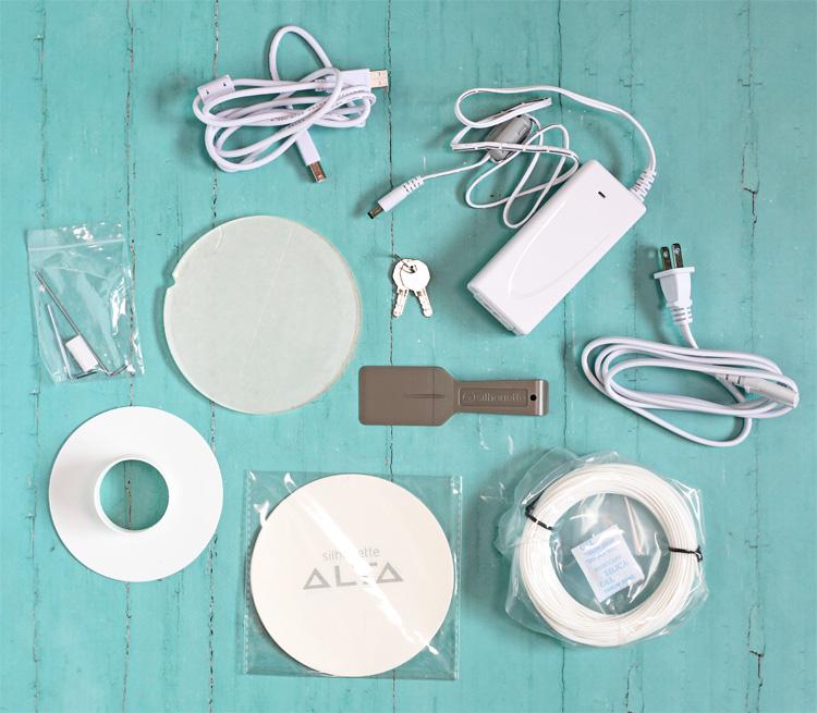 Silhouette Alta accessories