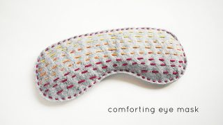 project: comforting eye mask