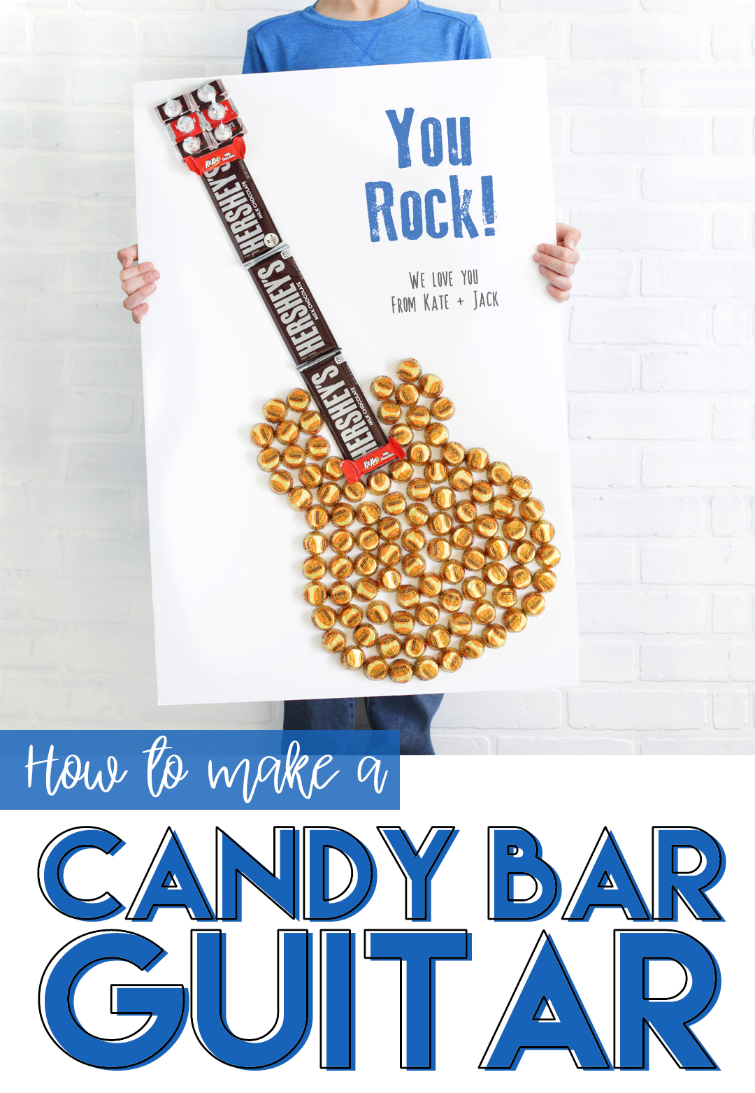 how to make a candy bar guitar