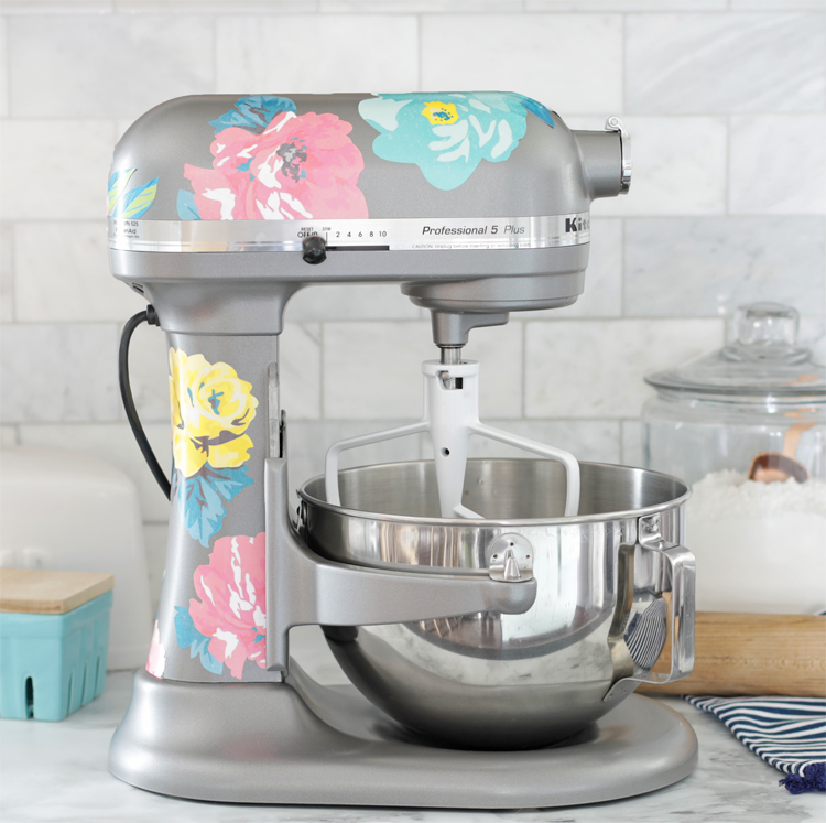 floral kitchenaid decals
